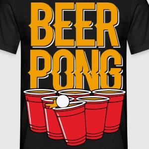 beerpong Tee shirts - T-shirt Homme