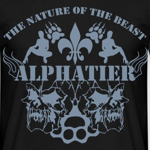 alpahtier ~ the nature of the beast - Männer T-Shirt