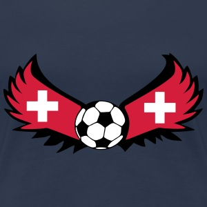 Swiss football - Women's Premium T-Shirt