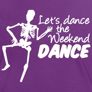 Weekend Dance - Frauen Kontrast-T-Shirt
