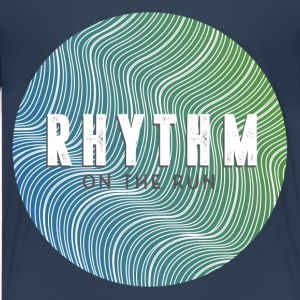 Rhythm On The Run Logo Shirts - Teenage Premium T-Shirt