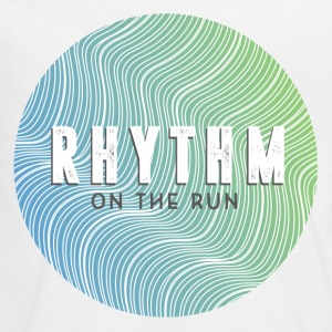Rhythm On The Run Logo Long Sleeve Shirts - Teenagers' Premium Longsleeve Shirt