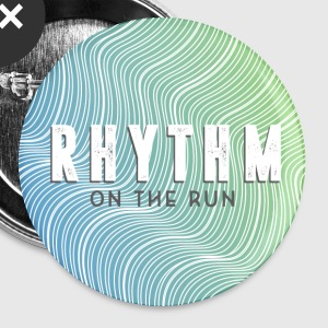 Rhythm On The Run Logo Buttons - Buttons small 25 mm