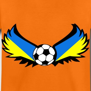 fotball Ukraina - Premium T-skjorte for barn