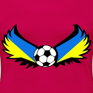 Football Ukraine - Women's Premium T-Shirt