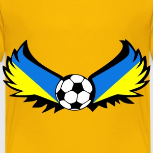 Ukraine de football - T-shirt Premium Enfant
