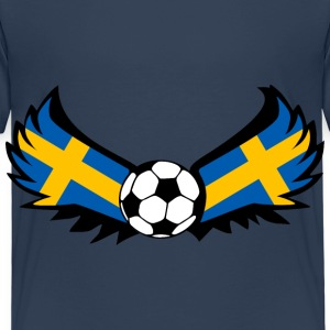Football Sweden - Kids' Premium T-Shirt