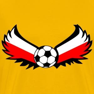 Soccer Poland - Men's Premium T-Shirt