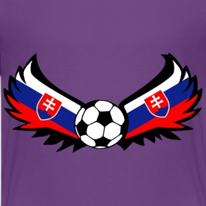 Football Slovakia - Teenage Premium T-Shirt