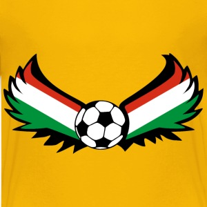 Football Hungary - Teenage Premium T-Shirt
