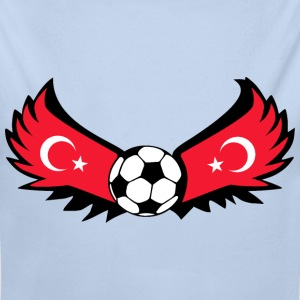 Football Turkey - Longlseeve Baby Bodysuit
