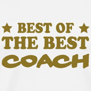 Best of the best coach T-shirts - Herre premium T-shirt