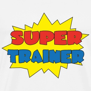 Super trainer T-shirts - Mannen Premium T-shirt