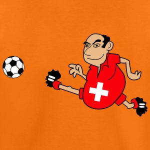Swiss footballers - Teenage Premium T-Shirt