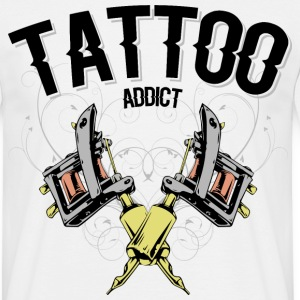 tattoo machine colors Tee shirts - T-shirt Homme