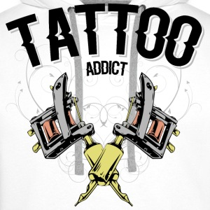 tattoo machine colors Sweat-shirts - Sweat-shirt à capuche Premium pour hommes