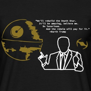 Death Star Gold - Darth Trump - Donald Trump - Männer T-Shirt