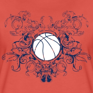 vintage_ball_sport_042016_basketball_a T-Shirts - Frauen Premium T-Shirt