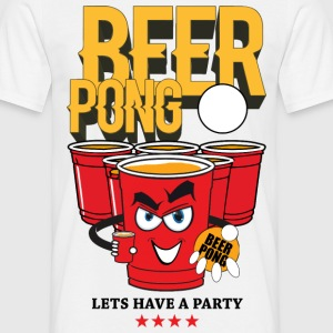 Beerpong perso Tee shirts - T-shirt Homme