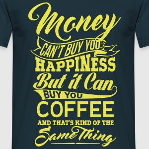 MONEY and COFFEE MEN T-SHIRT - Men's T-Shirt