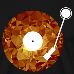 Golden Vinyl (Low Poly) T-shirts - Mannen Premium T-shirt