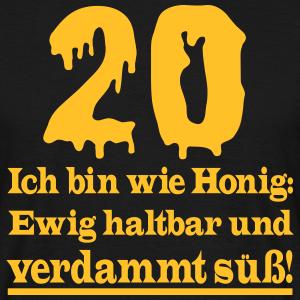 "Geburtstag T-Shirts mit ""20 Geburtstag Süß"""