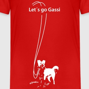Let´s go Gassi - Teenager Premium T-Shirt