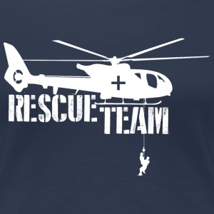 Heli Rescue  T-Shirts - Frauen Premium T-Shirt
