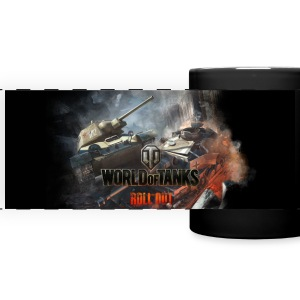 World of Tanks Champ de bataille coleur tasse - Tasse panoramique en couleur