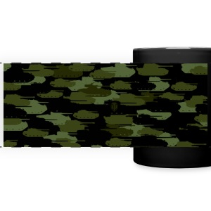 World of Tanks Tank Camouflage tasse - Tasse panoramique en couleur