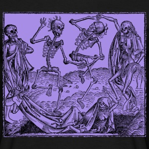Totentanz / Dance of macabre - Männer T-Shirt