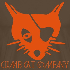 Cat's Head By ClimbCatCompany Tee shirts - T-shirt Premium Homme