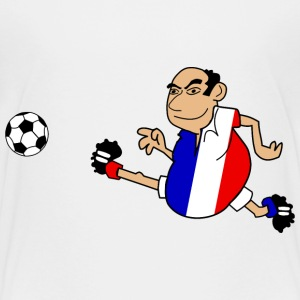 Joueur de football Français - Teenager Premium T-Shirt