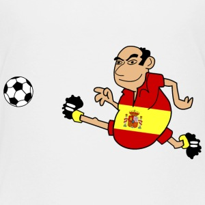 Spanish footballers - Teenage Premium T-Shirt