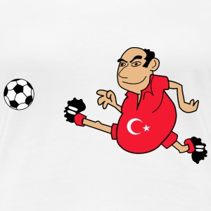 Turkish footballer - Women's Premium T-Shirt