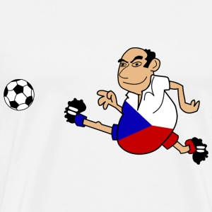 Czech footballers - Men's Premium T-Shirt