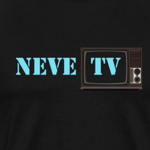 NeveTv  - Premium T-skjorte for menn