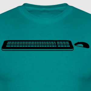 move control mouse keyboard computer pc Write tap T-Shirts - Men's T-Shirt