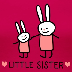 little Sster /rabbits) T-Shirts