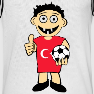 Turkse jongen - Mannen basketbal shirt