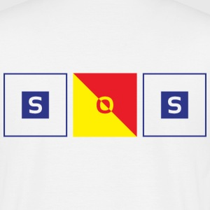 SOS Flags - T-shirt Homme