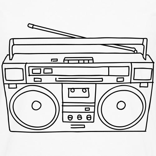 Radio Kassettenrekorder Ghettoblaster
