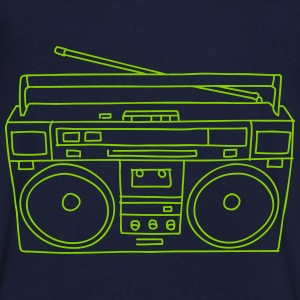 Boombox T-Shirts - Men's V-Neck T-Shirt
