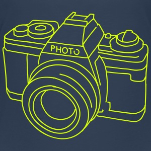 Camera (SLR) Shirts - Teenage Premium T-Shirt