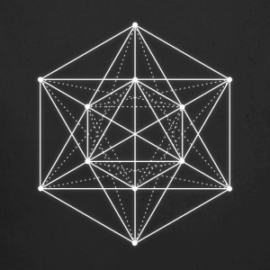 Sacred geometry / Minimal Hipster Line Art Baby Bodysuits - Longlseeve Baby Bodysuit