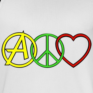 ANARCHY PEACE & LOVE  Vêtements de sport - Maillot de basket Homme