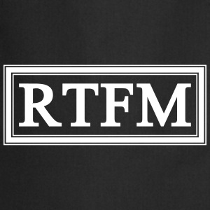 RTFM  Aprons - Cooking Apron