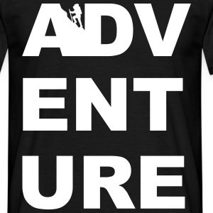 ADVENTURE HIKING CLIMBING TREKKING CAMPING OUTDOOR - Men's T-Shirt