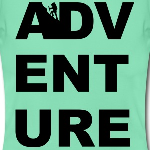 ADVENTURE HIKING CLIMBING TREKKING CAMPING WOMEN - Women's T-Shirt