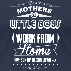 Mothers of little boys T-Shirts - Frauen Premium T-Shirt